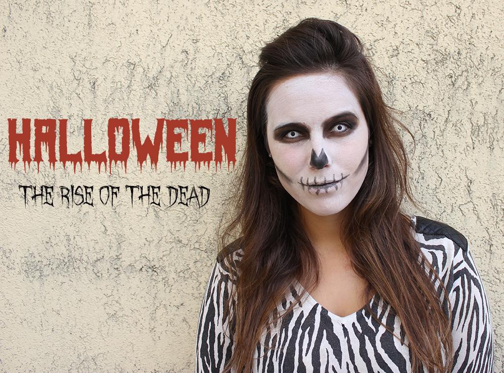 Maquilhagem Caveira Halloween