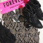 Primeiras compras na Forever21 do Colombo