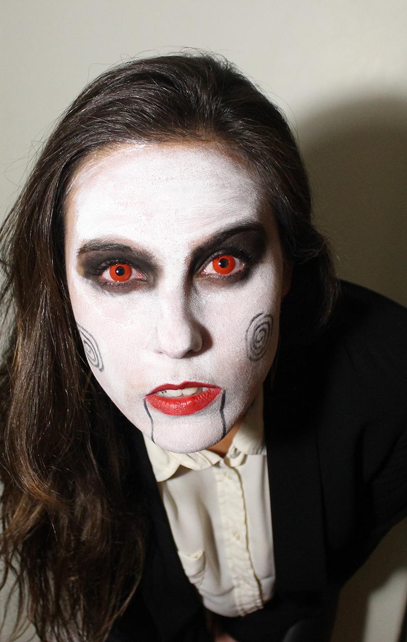 Halloween Makeup: Jigsaw