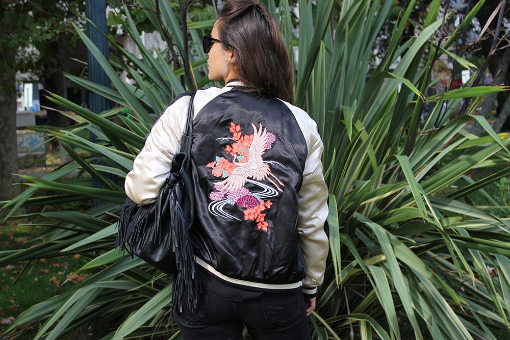 Rocker Style Bomber Jacket C&A