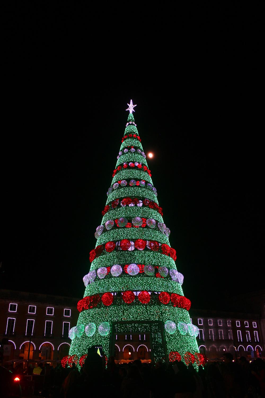 Luzes de Natal no Chiado