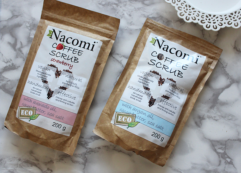 NACOMI - ESFOLIANTE SECO DE CAFÉ PARA O CORPO