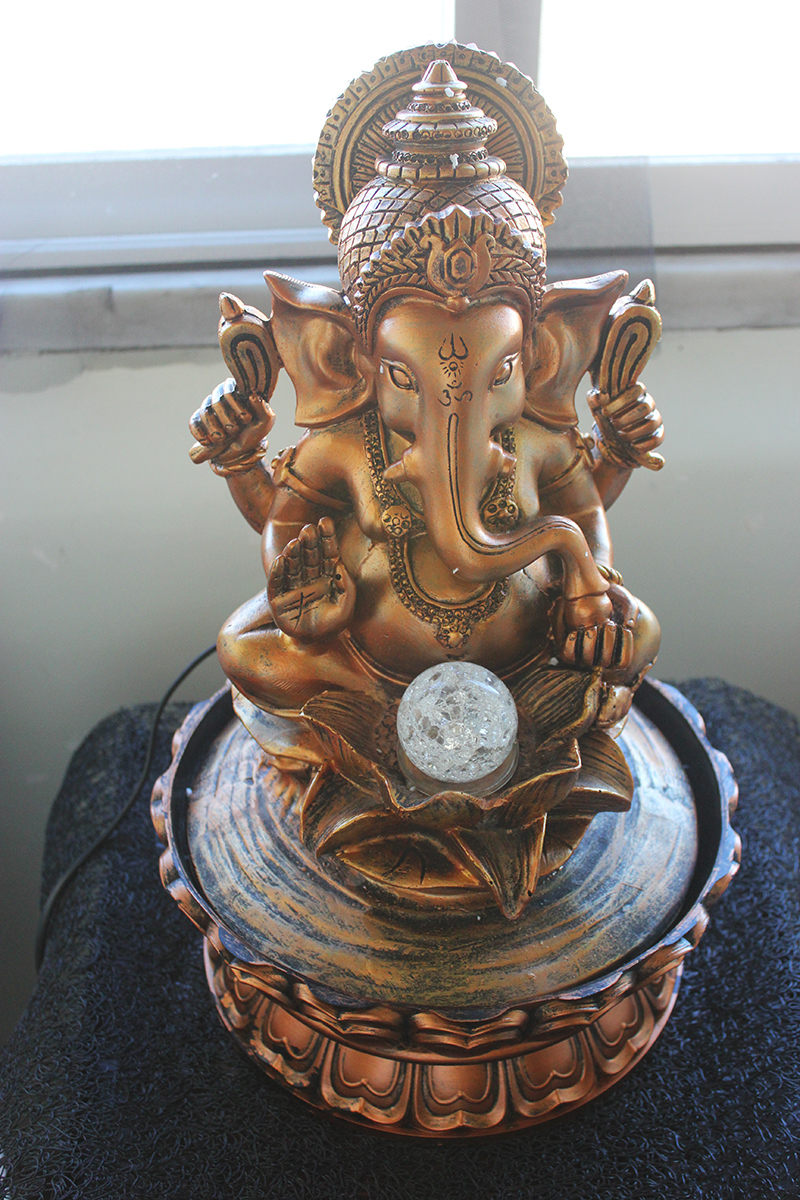 estátua de água shiva