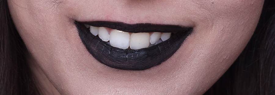 Batom preto Black Lipstick Ebay