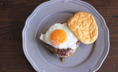 Receita de hambúrguer saudável de Oopsie