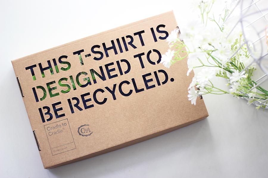 Tshirt reciclavel C&A