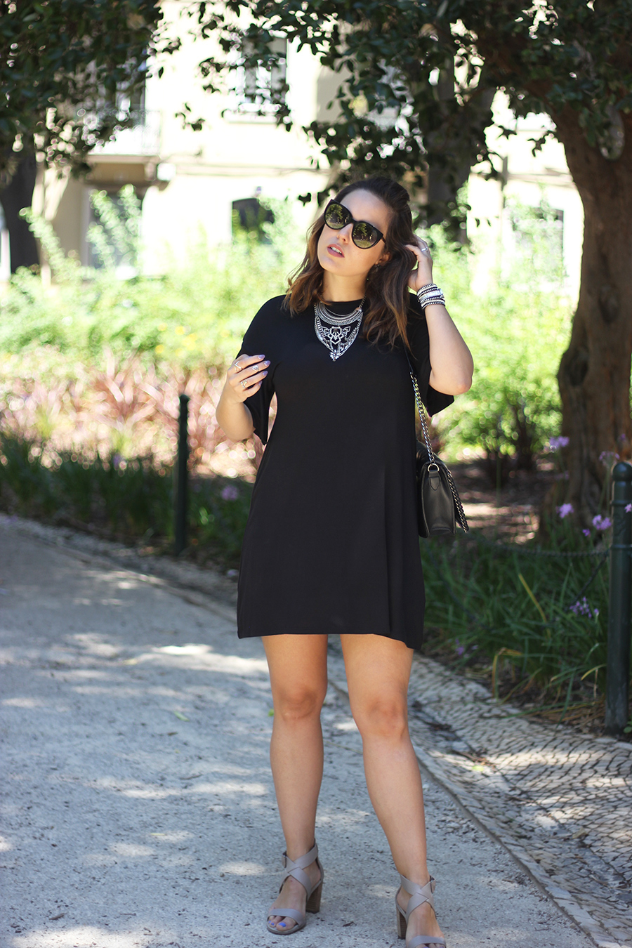 Baggy Black Dress