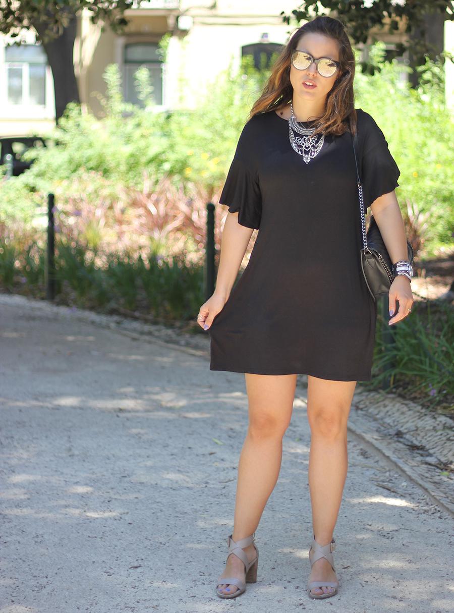 Baggy Black Dress