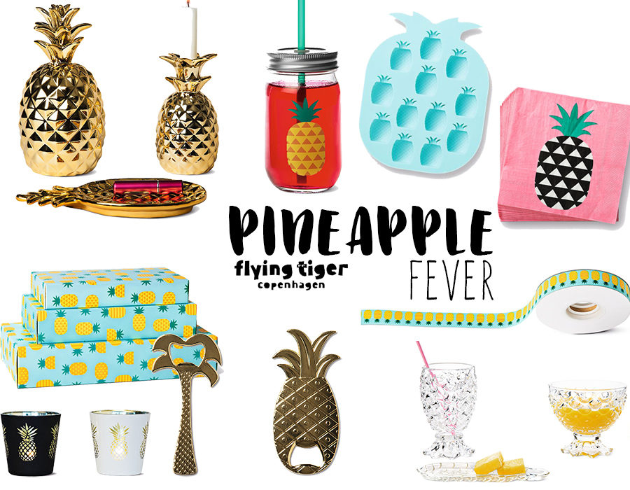 PINEAPPLE FEVER FLYING TIGER