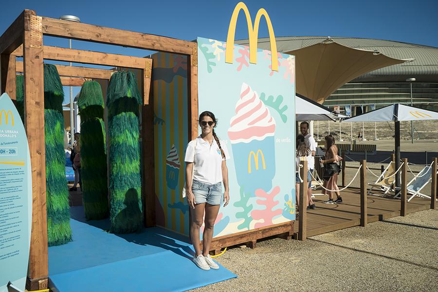 Praia Urbana McDonalds