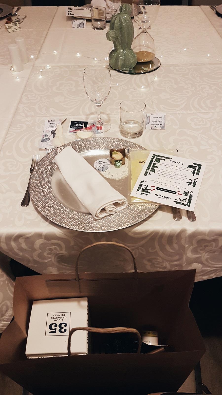 Jantar de bloggers 2017