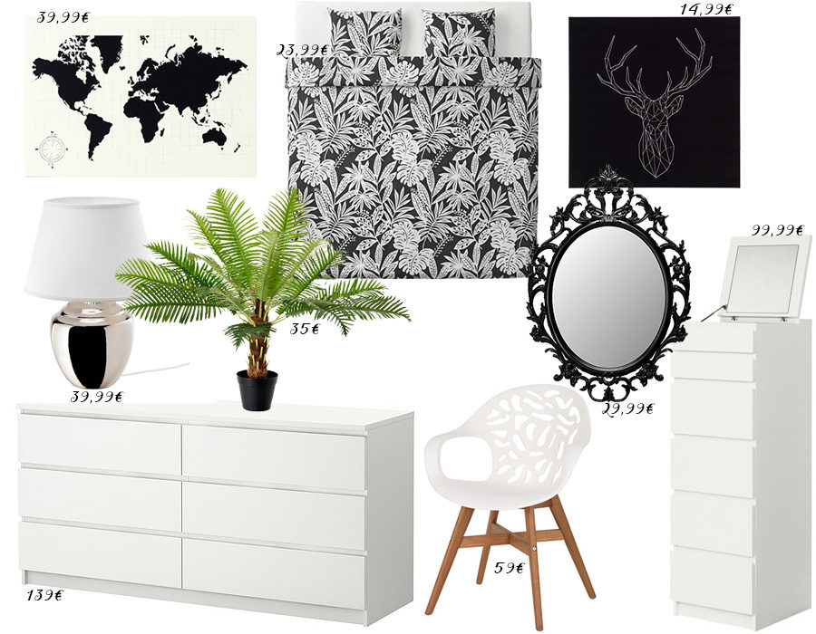 IKEA Decoração para o quarto