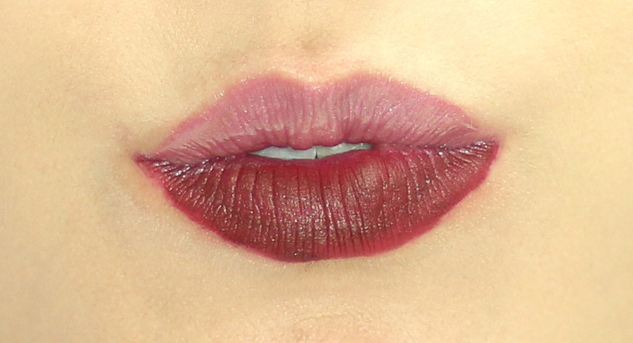 Liquid Lip MARK MATE Passion It VS SHINE Mauve Over 1