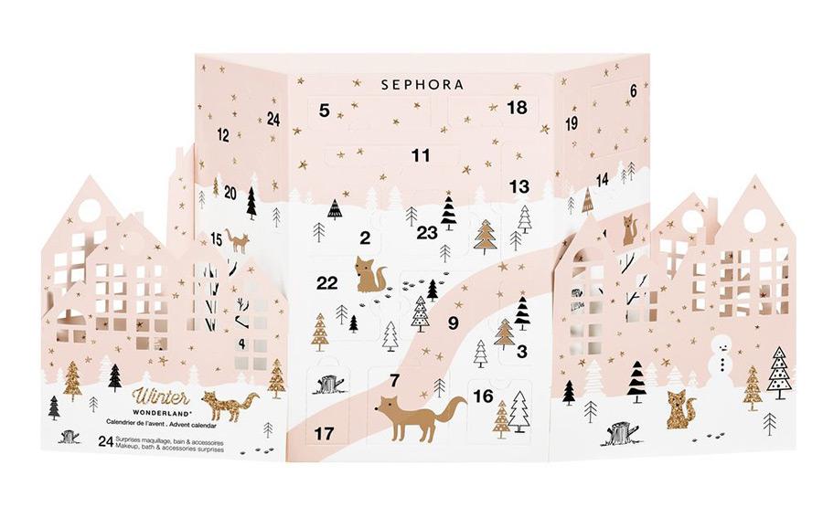 Calendário do Advento 2017 SEPHORA