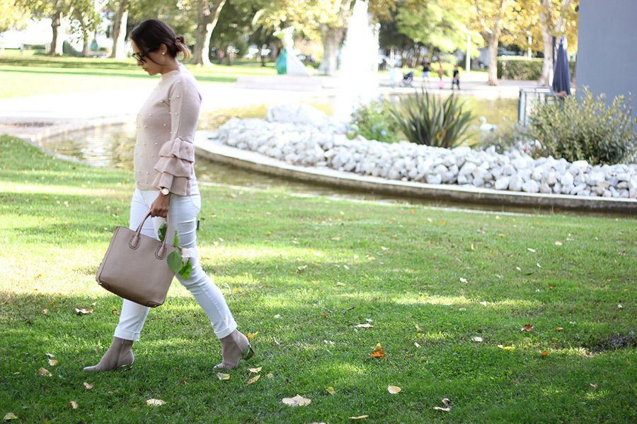Fall in Pink Outfit of the Week