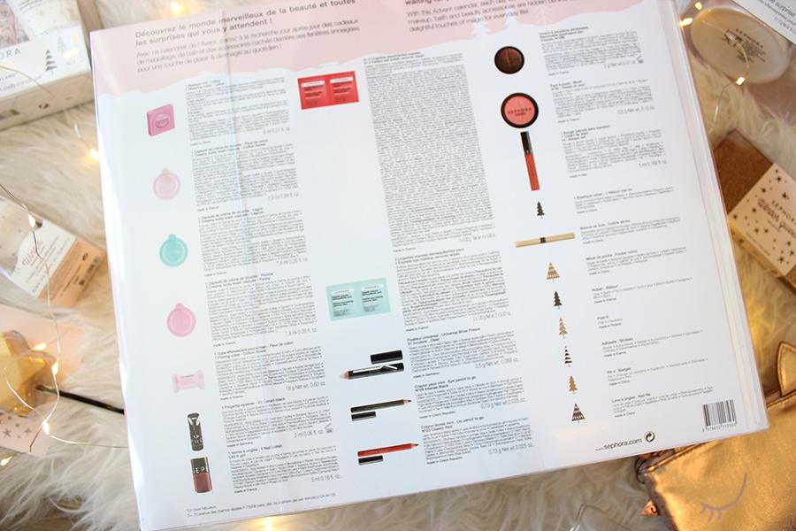 Calendário do Advento Sephora WInter Wonderland