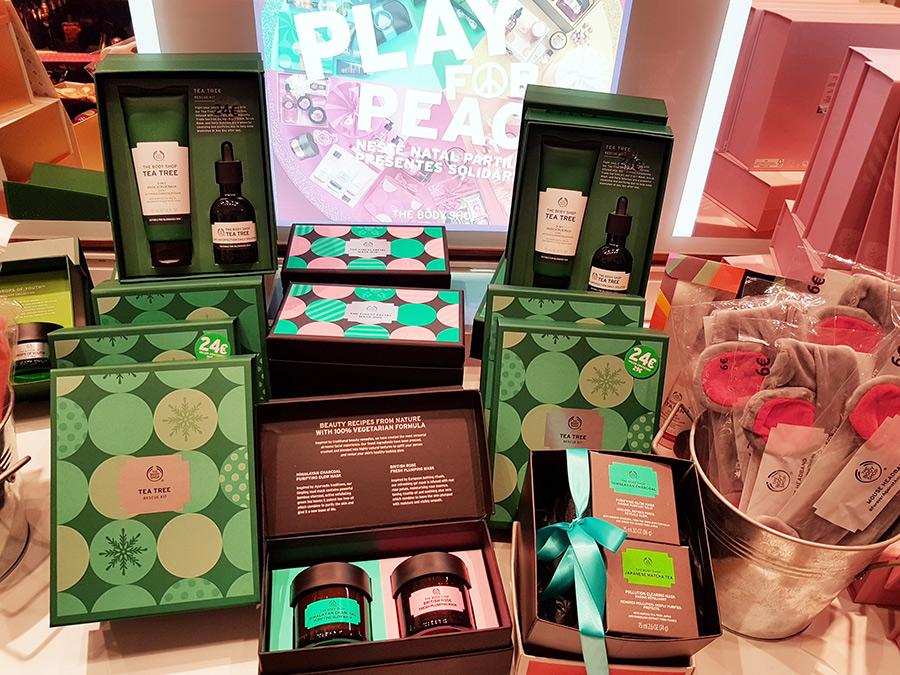 Produtos de Natal The Body Shop