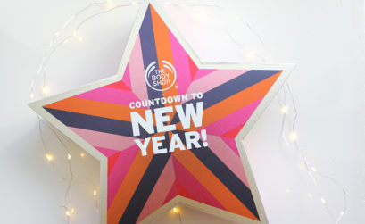 Countdown to New Year da The Body Shop