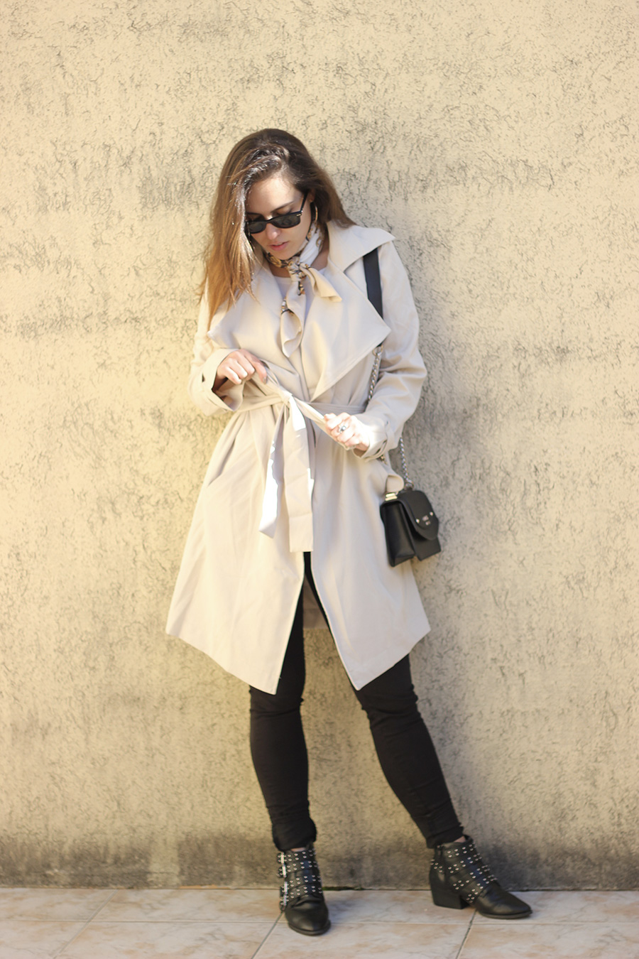 trench coat Romwe