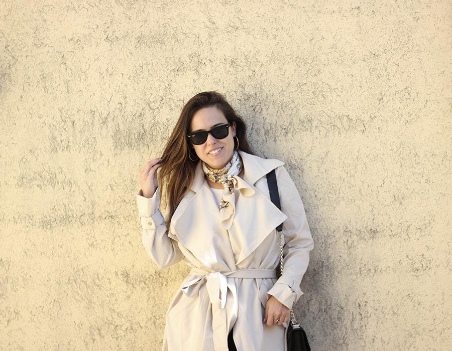 trench coat Romwe
