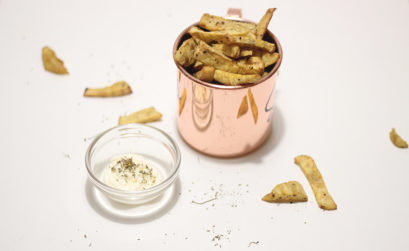 "Batata doce frita ""light"" na Airfryer Philips"