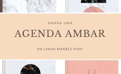 Agenda Marble Pink Ambar