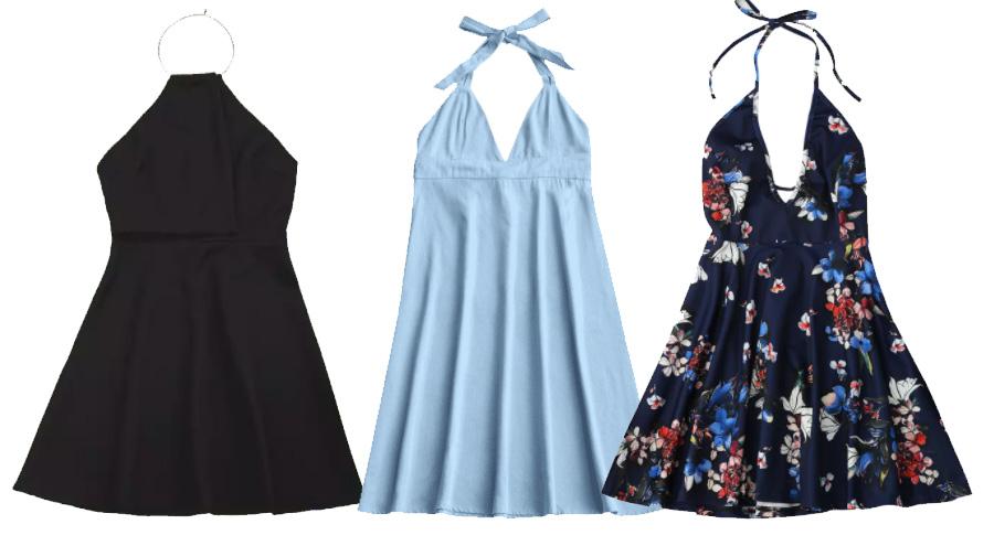 halter dress zaful