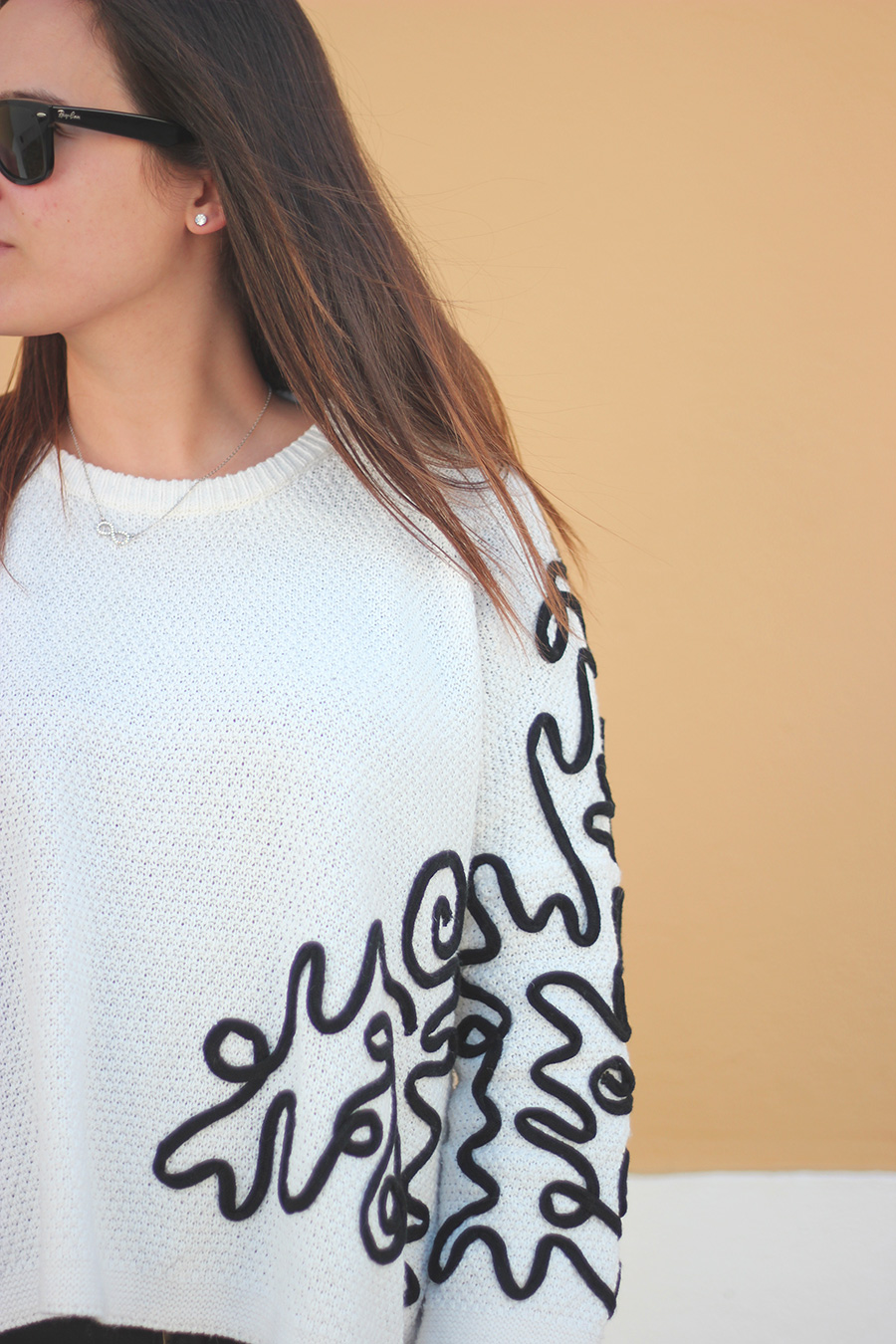 Snake Jumper Outfit SheIn