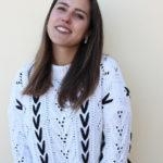Uma camisola de malha branca, quentinha e confortável | OOTD