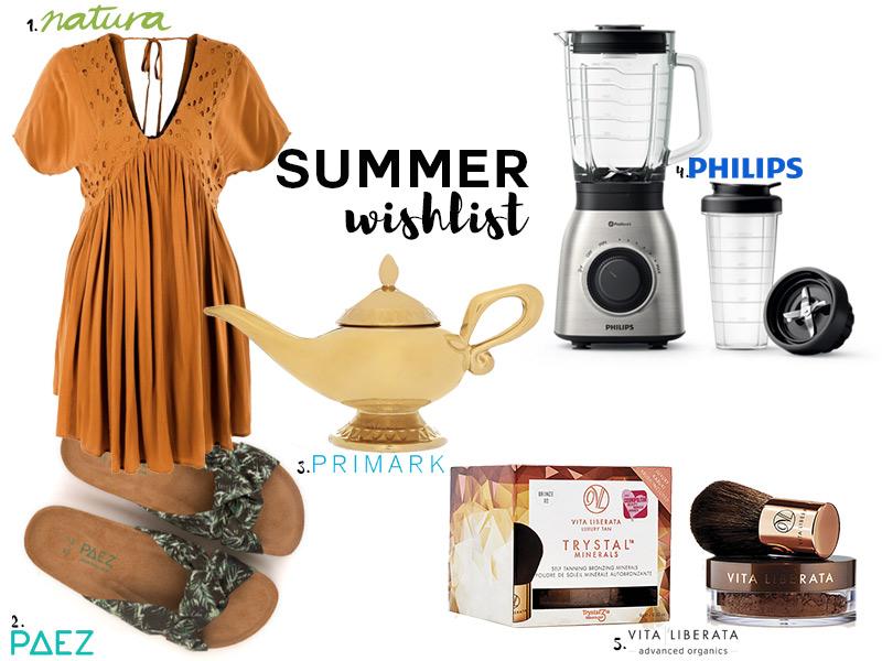 Summer wishlist