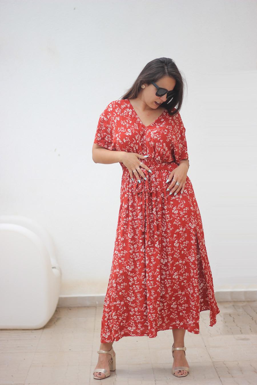 Vestido Kimono SheIn