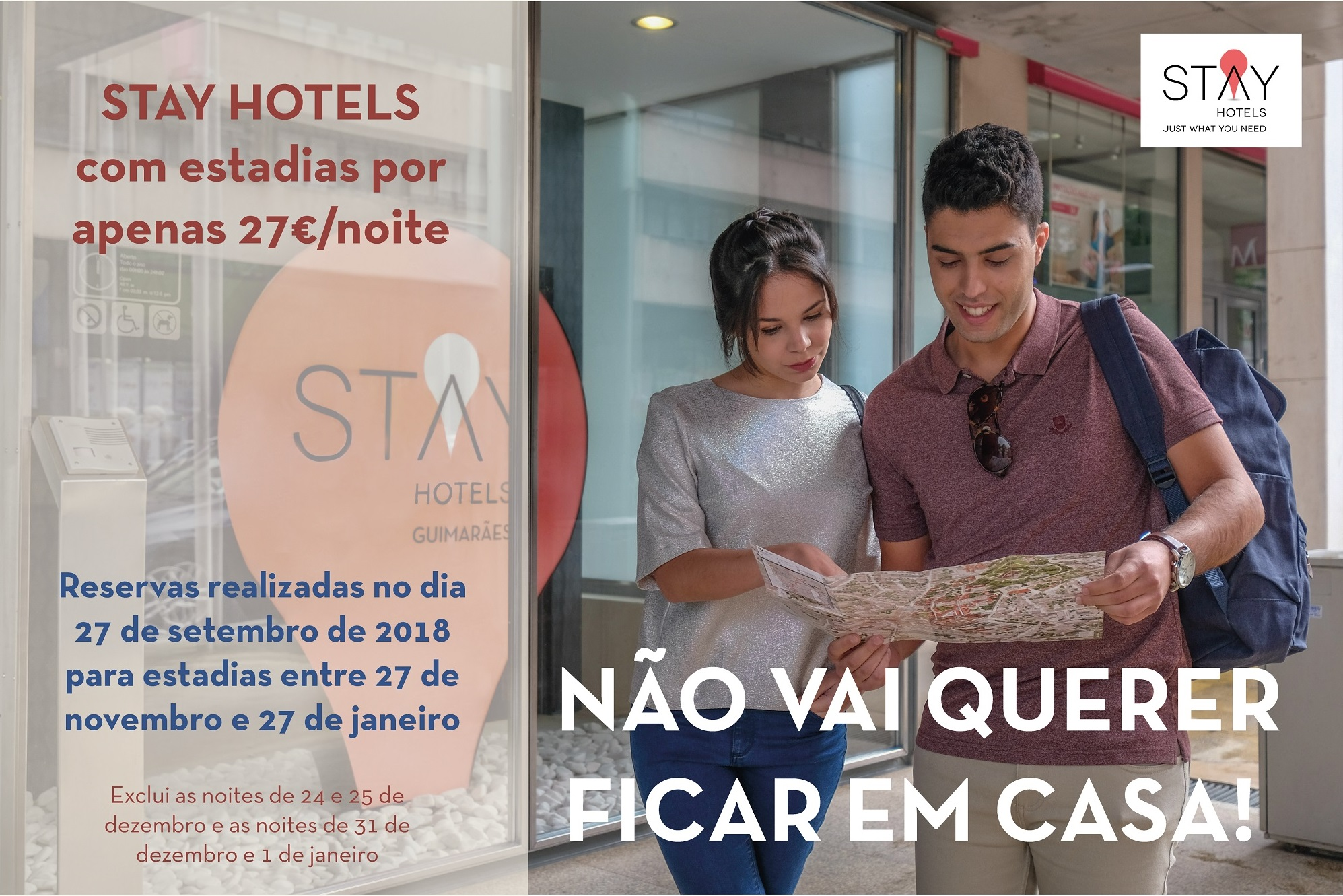 STAY HOTELS Dia Mundial do Turismo