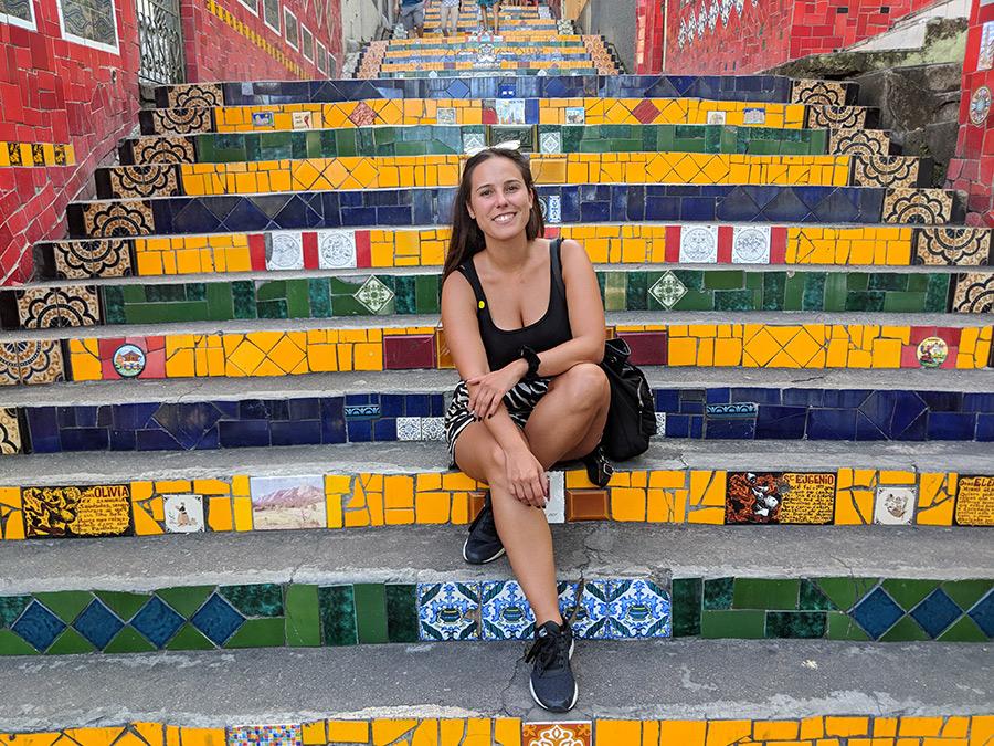 Escadarias Selarón Rio de Janeiro