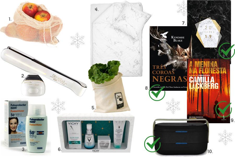 A minha lista de presentes de Natal