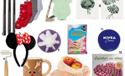 Presentes de Natal até 5 euros