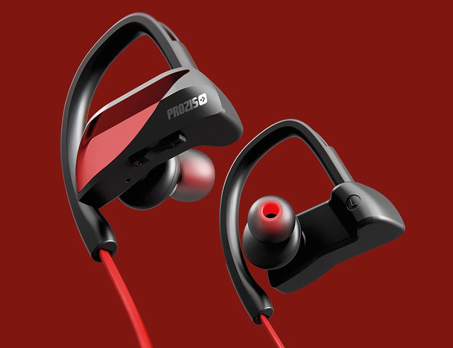 Auriculares Bluetooth Prozis Active Beats AB-1B