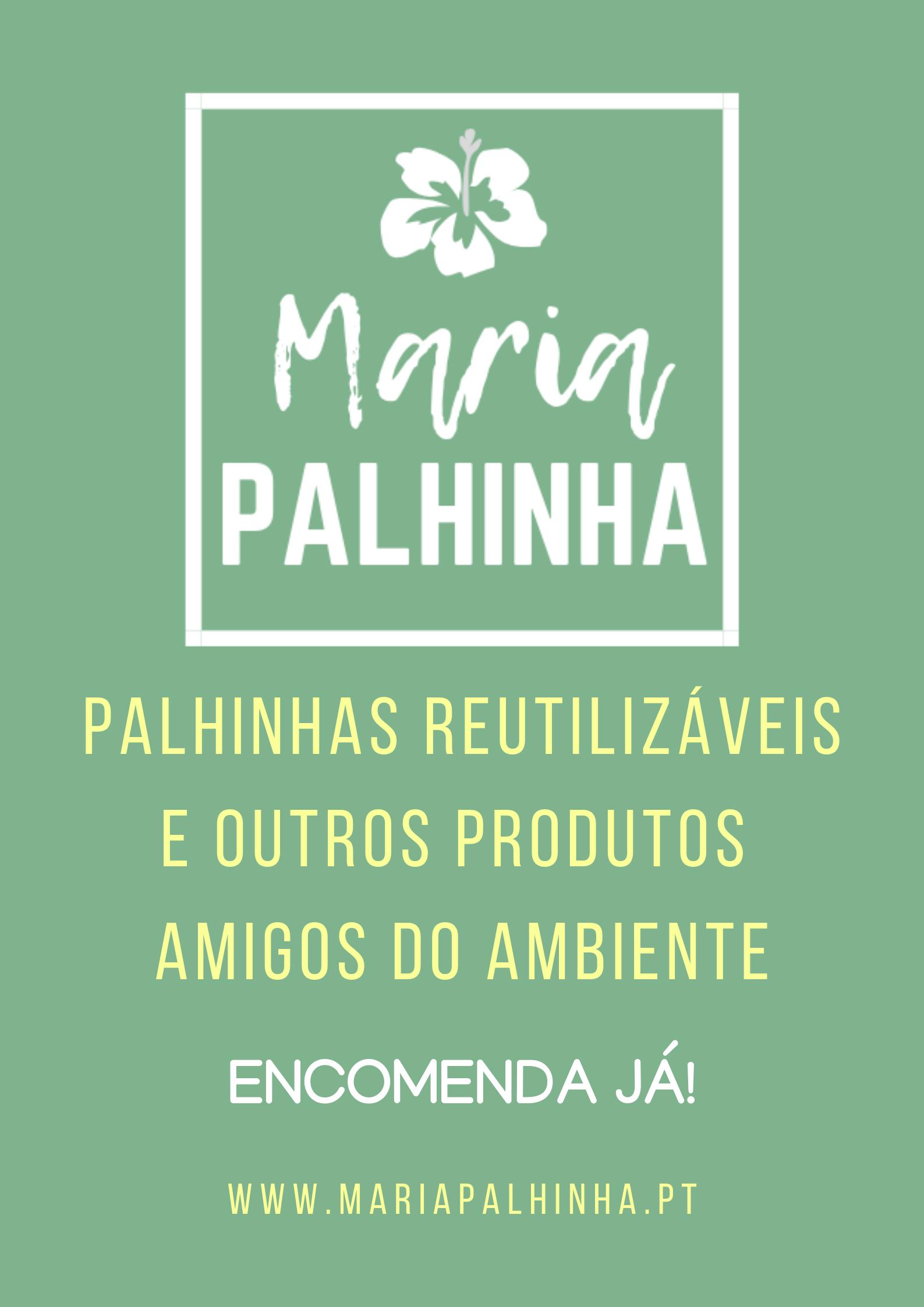 Maria Palhinha - Palhinhas reutilizáveis