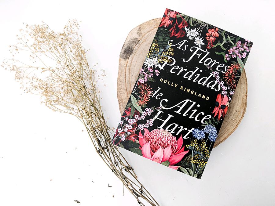 Livro as flores perdidas de Alice HEart