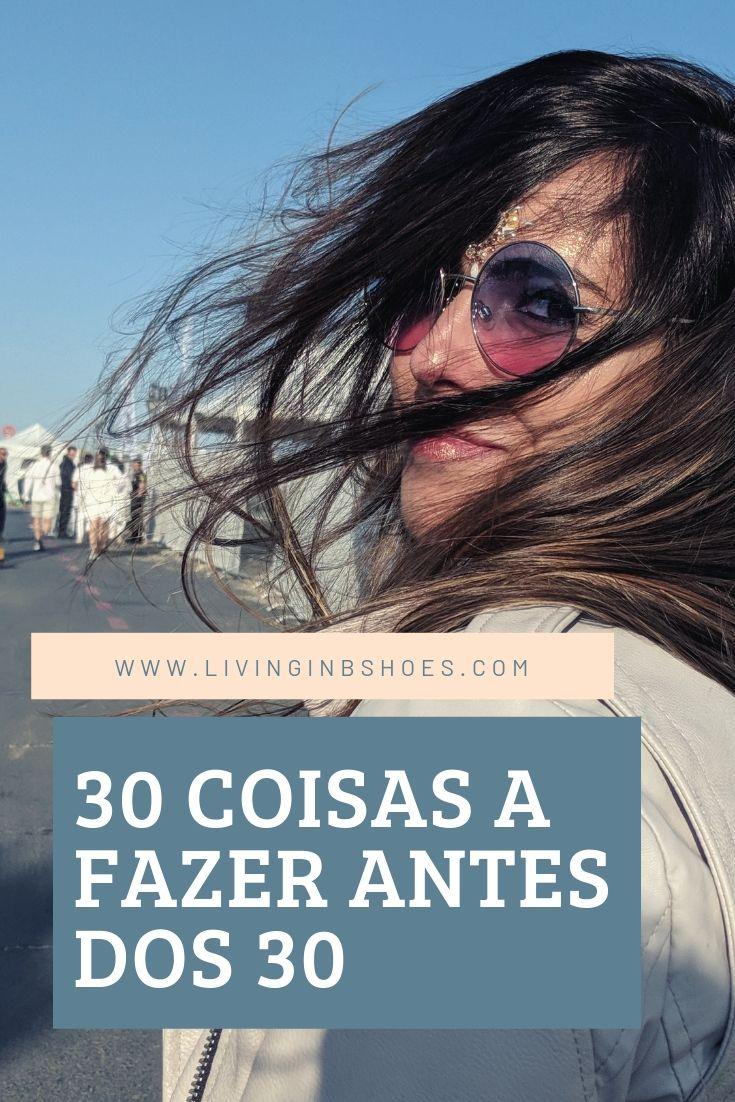 30 coisas a fazer antes dos 30