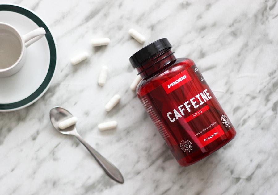 Cápsulas de cafeína Prozis