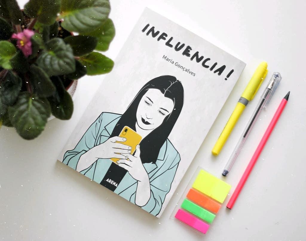 Livro Influencia! por Maria Gonçalves