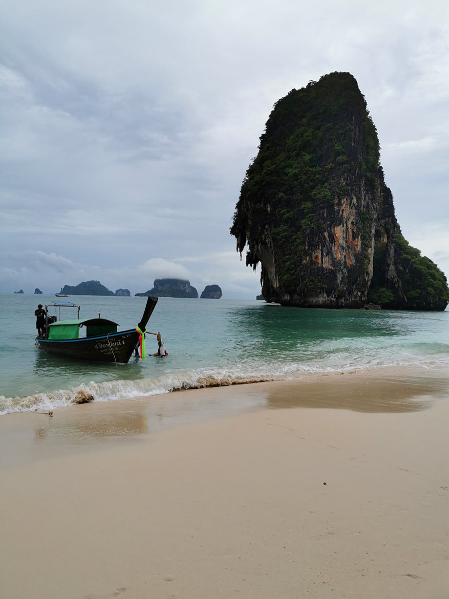 Phranang Cave Beach, Railay Beach, Krabi