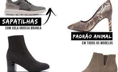 Tendências de calçado Outono Inverno 2019