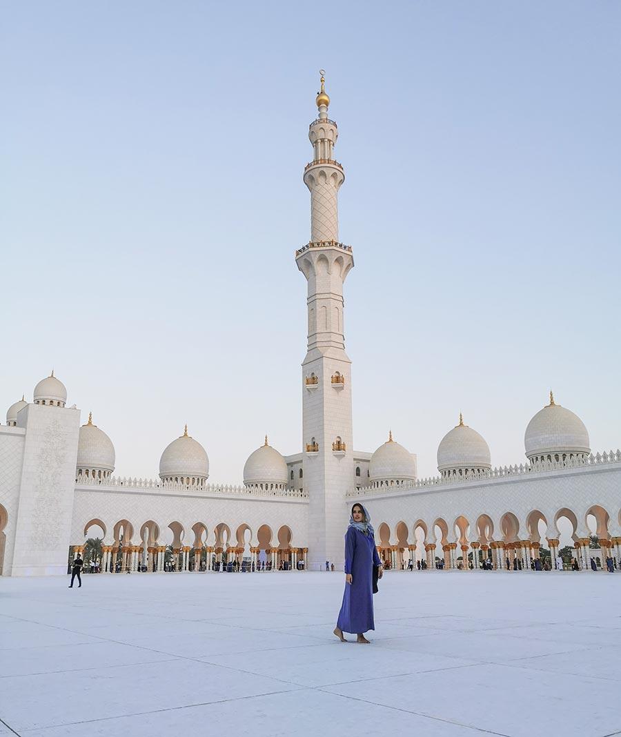 Sheikh Zayed Grand Mosque @ Abu Dhabi