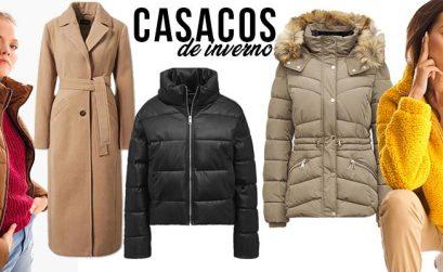 5 casacos quentes e baratos para este Inverno