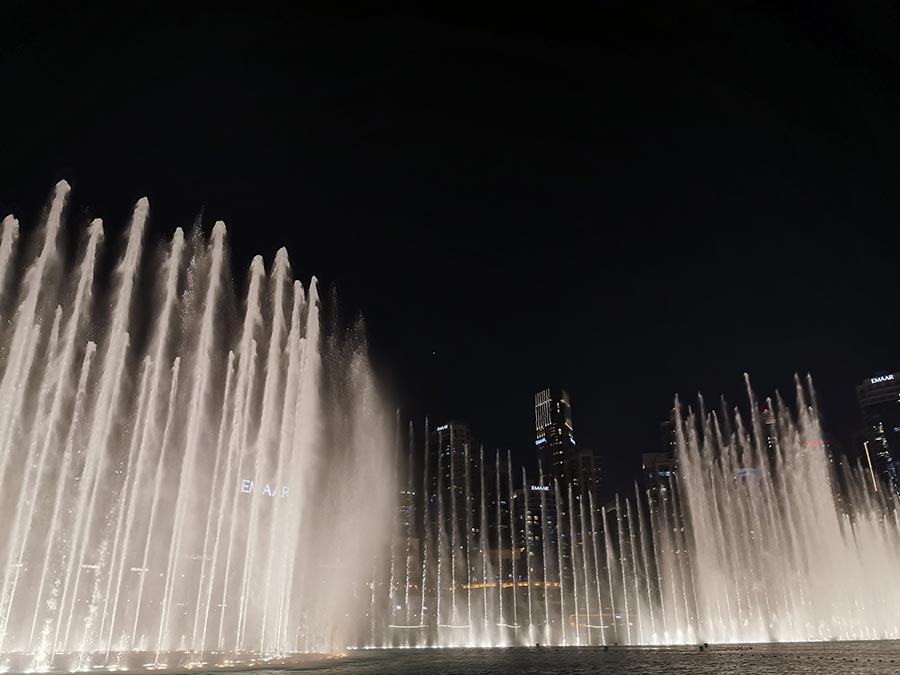 Espectáculo de luzes Dubai Mall