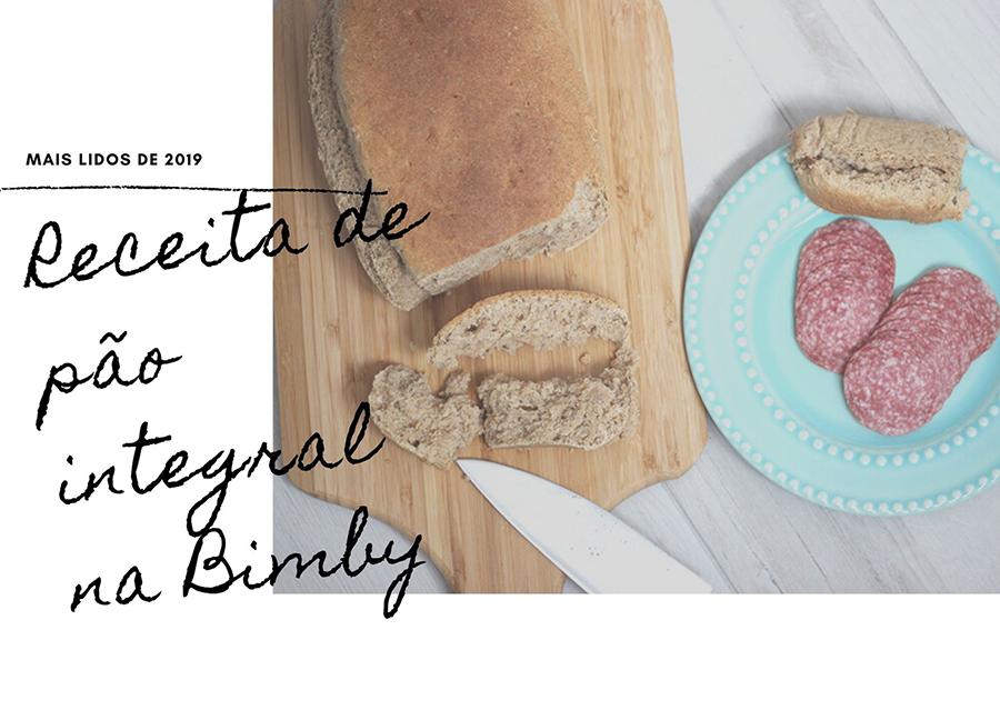Receita de pão integral na Bimby