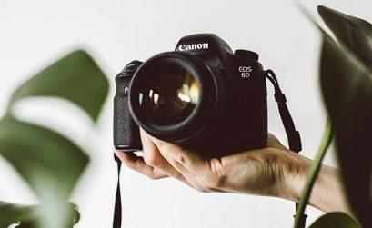 Equipamento fotográfico para bloggers