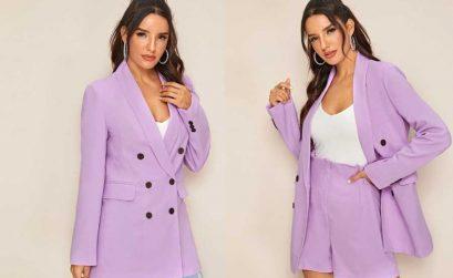 Moda em lilás até 30€ na Shein