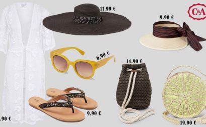 7 acessórios C&A para ir à praia com estilo